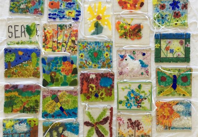 fused glass workshops