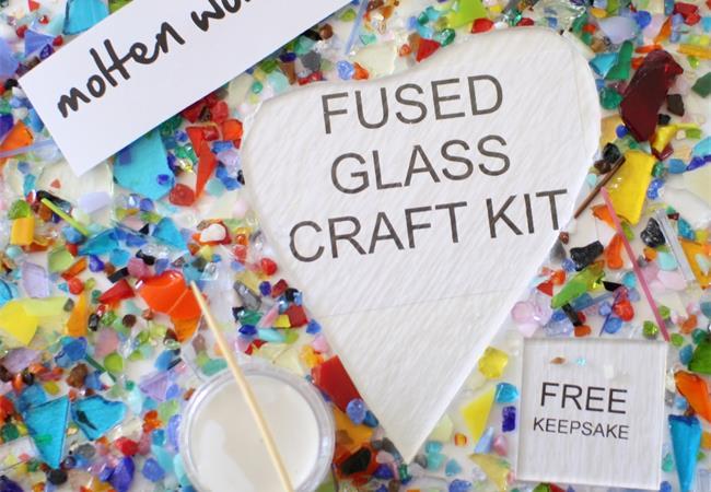 heart glass kit