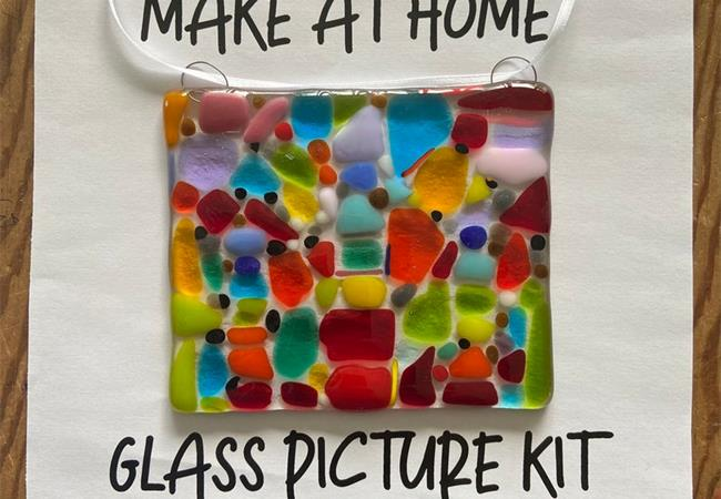 make at home glass fusing kit