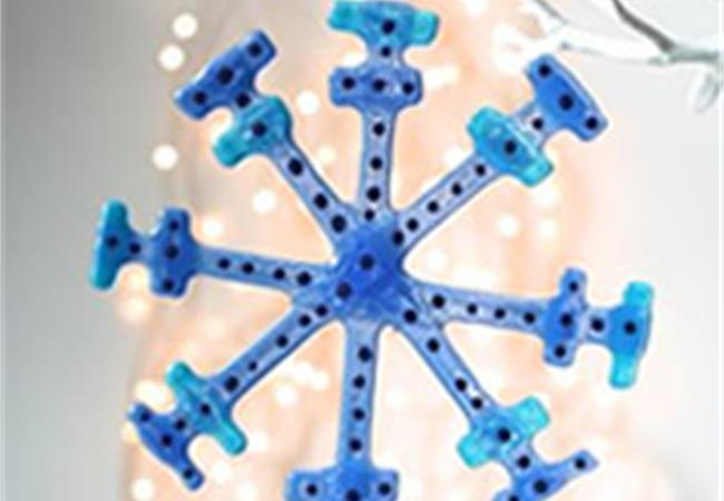 fused glass snow flakes from molten wonky