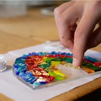 make at home fused glass kit
