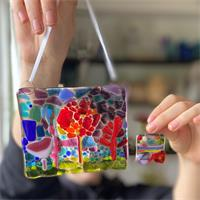 fused glass picture making kit